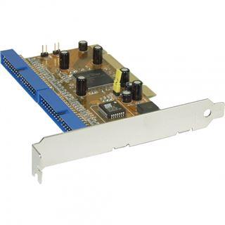 InLine Controller Karte 2-Kanal IDE 4 Port PCI retail