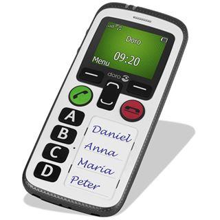 doro Secure 580 schwarz/weiß