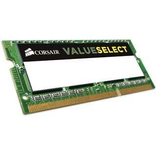 2GB Corsair ValueSelect DDR3L-1600 SO-DIMM CL11 Single