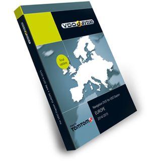 Tele Atlas VDO Europe DVD (BMW, Phaeton GP1) 2014/2015