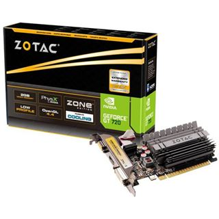 2GB ZOTAC GeForce GT 720 Zone Edition Passiv PCIe 2.0 x 8 (Retail)