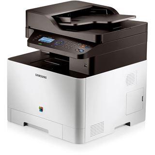 Samsung CLX 4195N/PLU Farblaser Drucken/Scannen/Kopieren LAN/USB 2.0
