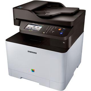 Samsung Xpress C1860FW/PLU Farblaser Drucken/Scannen/Kopieren/Faxen USB 2.0/WLAN