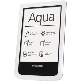 """6.0"""" (15,24cm) Pocketbook Aqua WiFi 4GB weiss"""