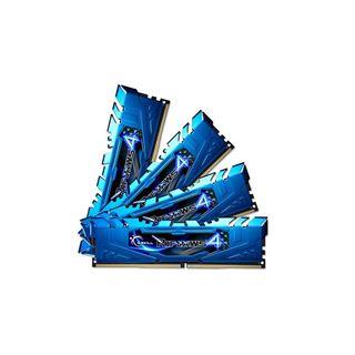 16GB G.Skill RipJaws 4 blau DDR4-2133 DIMM CL15 Quad Kit