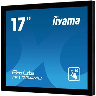 "17"" (43,18cm) iiyama ProLite TF1734MC-B1X Touch schwarz 1280x1024 DVI-D/VGA"