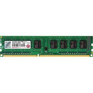 2GB Transcend DDR3L 1600 U-DIMM 1Rx8