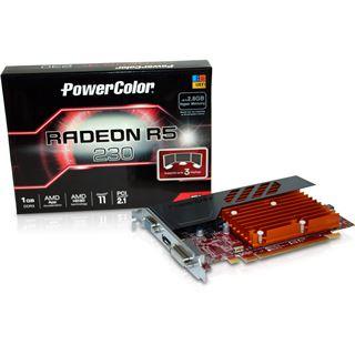 1GB PowerColor Radeon R5 230 Passiv PCIe 3.0 x16 (Retail)