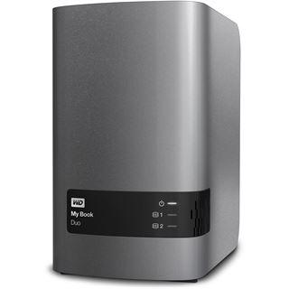"""12000GB WD My Book Duo WDBLWE0120JCH-EESN 3.5"""" (8.9cm) USB 3.0 silber/schwarz"""