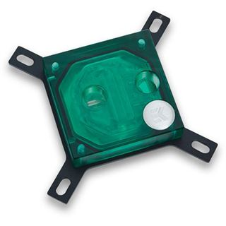 EK Water Blocks Supremacy EVO grün Kupfer (vernickelt) CPU Kühler
