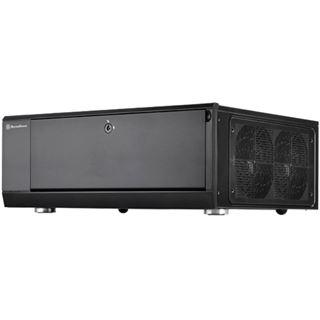 Silverstone Grandia GD10B Desktop ohne Netzteil schwarz