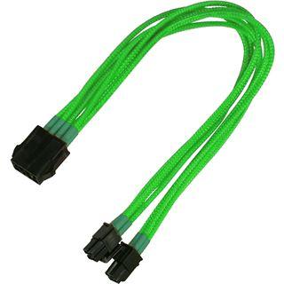 Nanoxia 30 cm einzeln gesleeved neon grünes Verlängerungskabel für 8-Pin EPS (NX8PV3ENG)