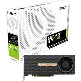 4096MB Palit GeForce GTX 970 Aktiv PCIe 3.0 x16 (Retail)