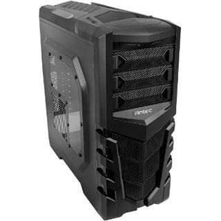 Antec GX505 mit Sichtfenster Midi Tower ohne Netzteil schwarz