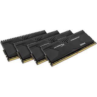 16GB HyperX Predator DDR4-3000 DIMM CL15 Quad Kit