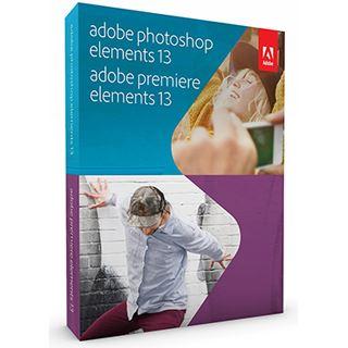 Adobe Photoshop Elements 13.0 und Premiere Elements 13.0 32/64 Bit Deutsch Grafik Upgrade PC/Mac (DVD)