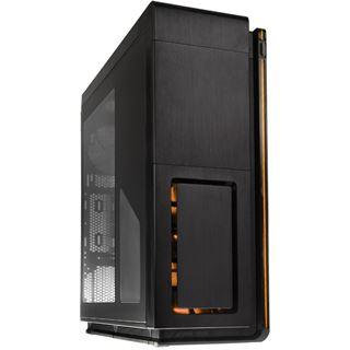 Phanteks Enthoo Primo mit Sichtfenster Big Tower ohne Netzteil schwarz/orange