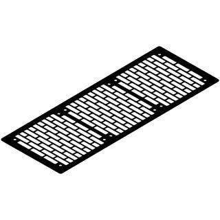 Watercool schwarz Lüfterblende für Gehäuse (21262)
