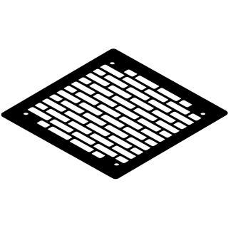 Watercool schwarze 140mm Lüfterblende für Gehäuse (21160)