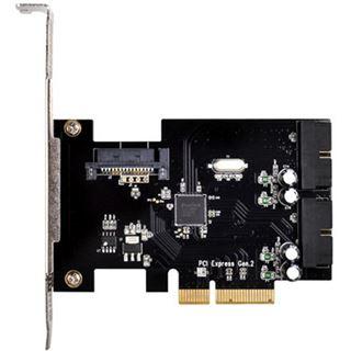 Silverstone SST-ECU01 2 Port PCIe 2.0 x2 retail