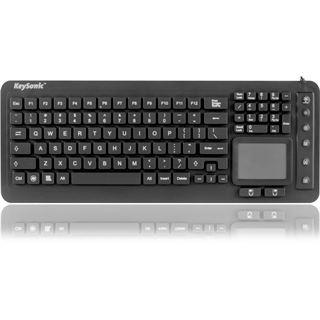 KeySonic KSK-6231 INEL USB Englisch (US) schwarz (kabelgebunden)