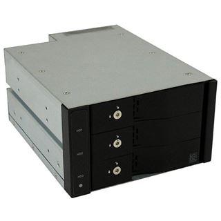 """LC-Power 2x 5,25"""" Wechselrahmen für 3x 3.5"""" Festplatten (LC-ADA-525-3x35-SWAP)"""
