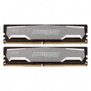 16GB Crucial Ballistix Sport DDR4-2400 DIMM CL16 Dual Kit