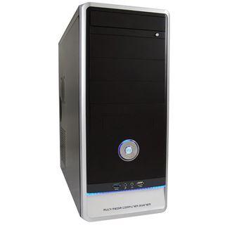 LC-Power 7021B USB 3.0 Midi Tower 420 Watt schwarz/silber