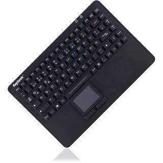 KeySonic KSK-5230 IN USB Schweizer Deutsch schwarz (kabelgebunden)