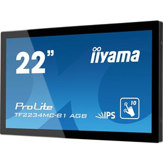 "21,5"" (54,61cm) iiyama ProLite TF2234MC Touch schwarz 1920x1080 1xDVI/1xVGA"