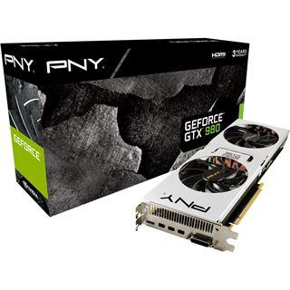 4GB PNY GeForce GTX 980 Pure Performance Aktiv PCIe 3.0 x16 (Retail)