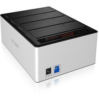 """RaidSonic Icy Box IB-141CL-U3 Dockingstation für 2.5"""" und 3.5"""" Festplatten (IB-141CL-U3)"""