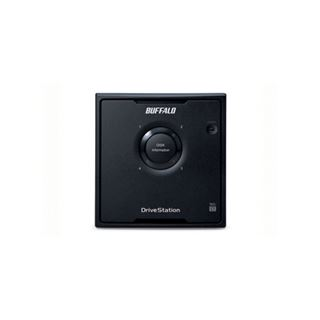 "8000GB Buffalo DriveStation Quad HD-QH8TU3R5-EU 3.5"" (8.9cm) USB 3.0 schwarz"