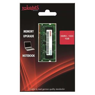 1GB takeMS TMS1GS364D081-139KE DDR3-1333 SO-DIMM CL9 Single