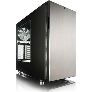 Fractal Define R5 gedämmt mit Sichtfenster Midi Tower ohne Netzteil titan