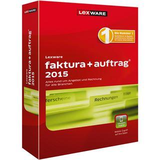 Lexware Faktura + Auftrag Plus 2015 32/64 Bit Deutsch Buchhaltungssoftware Vollversion PC (CD)
