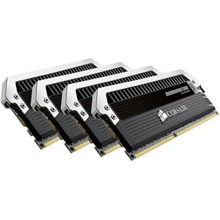 32GB Corsair Dominator Platinum DDR4-2666 DIMM CL15 Quad Kit
