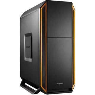 be quiet! Silent Base 800 gedämmt Midi Tower ohne Netzteil orange