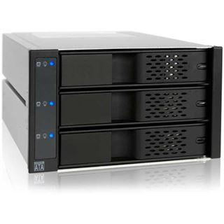 "Icy Dock 2x 5,25"" Wechselrahmen für 3x 3.5"" Festplatten (MB973SP-1B)"