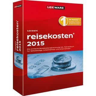 Lexware Reisekosten 2015 32/64 Bit Deutsch Finanzen Vollversion PC (CD)