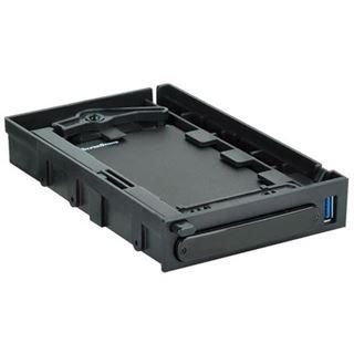 """Silverstone MS06B 2.5"""" (6,35cm) Micro USB 3.0 schwarz"""