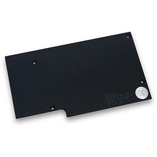 EK Water Blocks FC970 GTX schwarz Backplate für GTX970 (3831109869437)