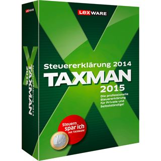 Lexware Taxman 2015 32/64 Bit Deutsch Finanzen Vollversion PC (CD)