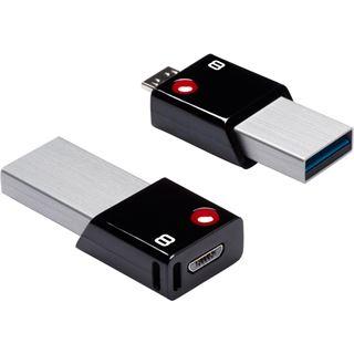 8 GB EMTEC Mobile & Go OTG schwarz USB 3.0