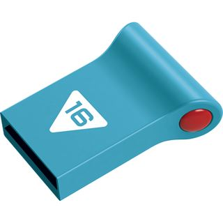 16 GB EMTEC Nano Pop blau USB 2.0