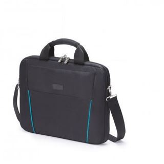 Dicota Slim Case Base 14-15.6 schwarz blau