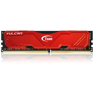 32GB TeamGroup Vulcan Series rot DDR4-3000 DIMM CL16 Quad Kit