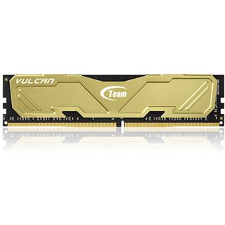 32GB TeamGroup Vulcan Series gold DDR4-3000 DIMM CL16 Quad Kit