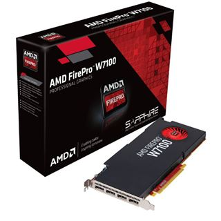 8GB Sapphire FirePro W7100 Aktiv PCIe 3.0 x16 (Retail)