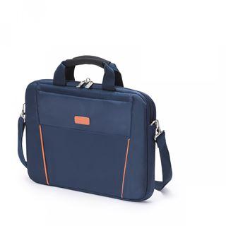 """Dicota Slim Case Base 12-13,3"""" (30,48-33,78cm) blau/orange"""